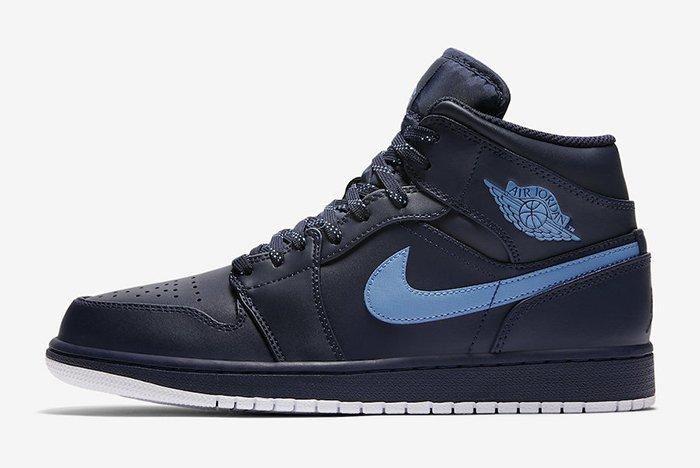 Nike Air Jordan 1 Mid Obsidian University Blue
