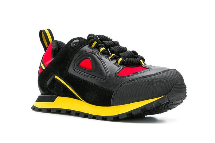 Maison Margiela Twist Up Lace Sneakers Black Yellow Red Release 001 Sneaker Freaker1