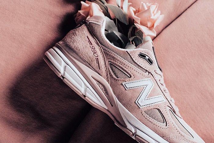 New Balance 990 V4 Faded Rose Pink 3