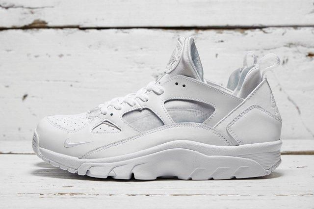 Nike Air Trainer Huarache Low White White 1