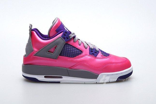 Air Jordan 4 Pink Foil Profile