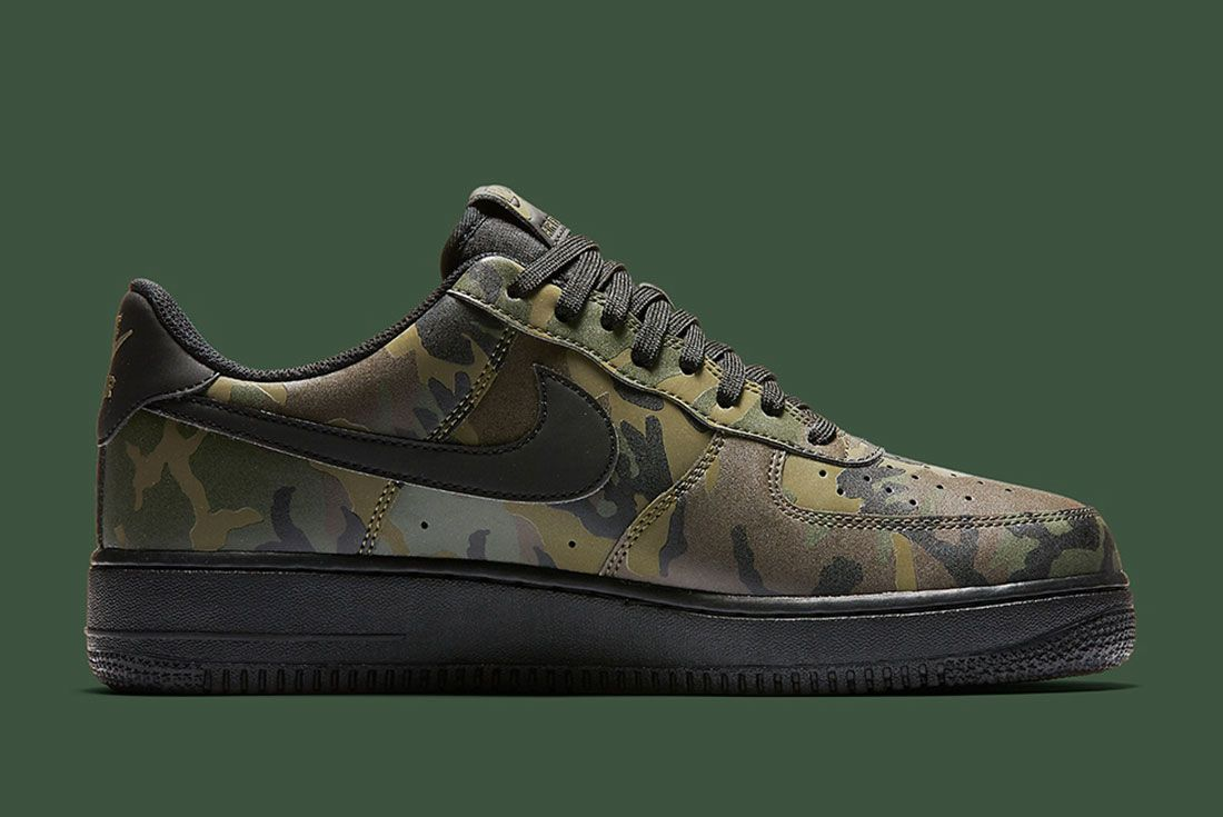 Nike Air Foce 1 Camo Reflective 1