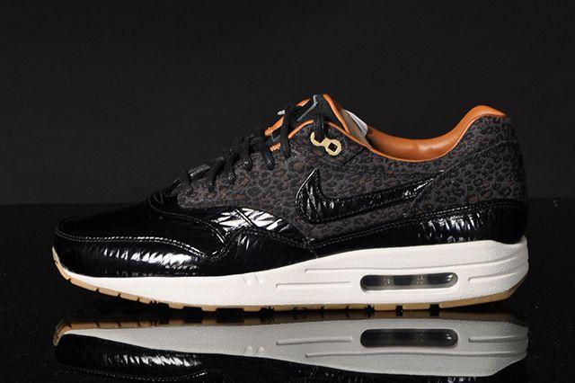 Nike Air Max 1 Fb Woven Black Leopard 4