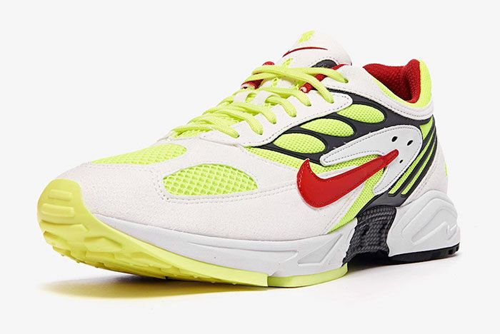 Nike Air Ghost Racer At5410 100 Front Angle