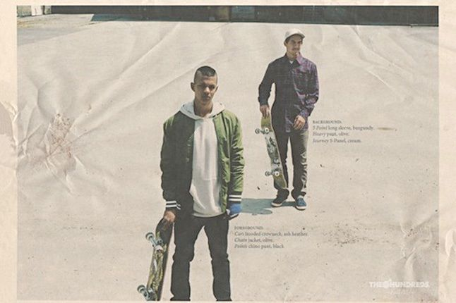 The Hundreds Fall 2011 Collection Lookbook 2 1