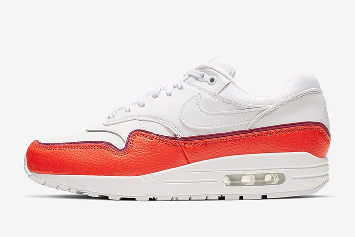 Nike Air Max 1 Layer Red Left
