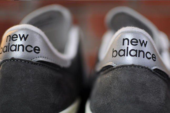 New Balance Silver Heel Tab 1