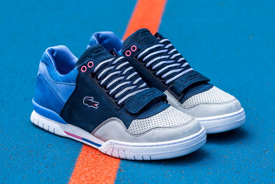 Lacoste Sf Blue 1 Pair Side