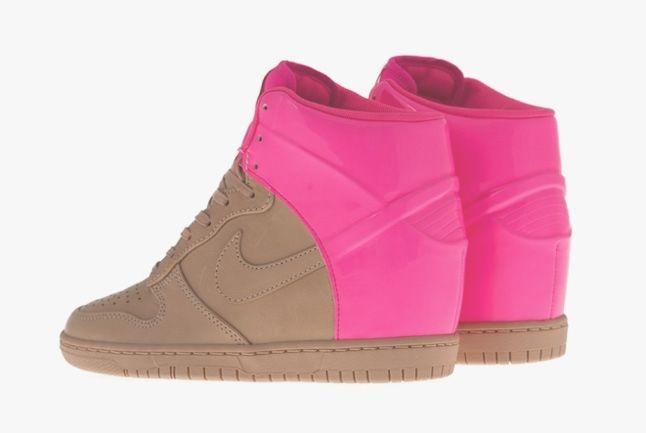 Nike Dunk Sky Hi Vt Vachetta Pink Flash 2