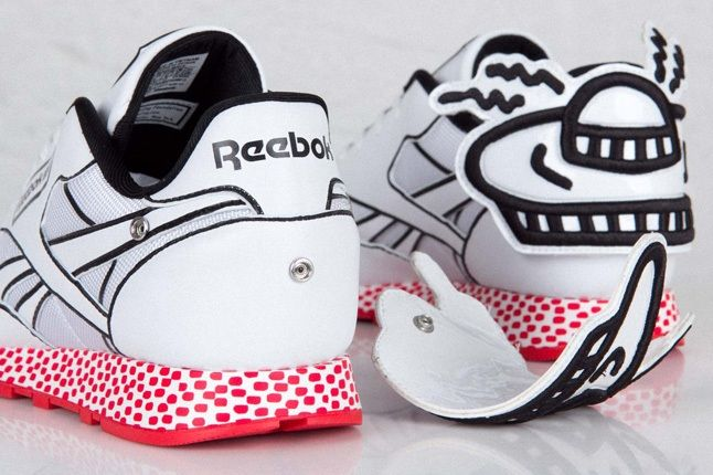 Reebok Classic Leather Lux Keith Haring 2