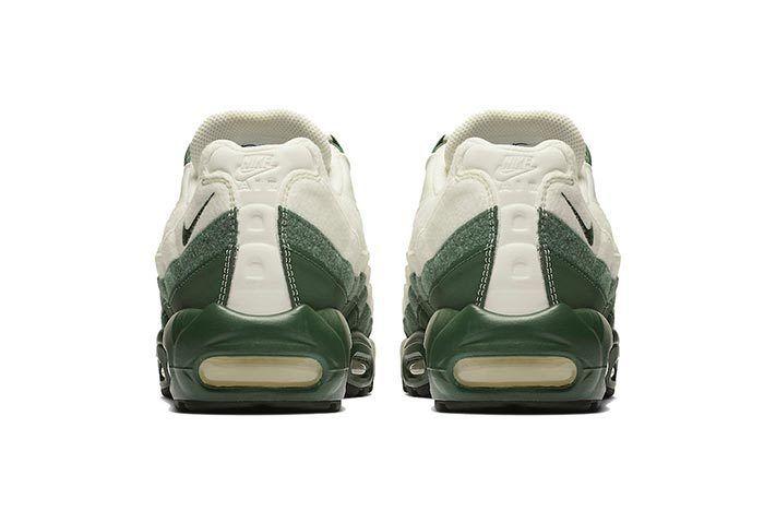 Nike Air Max 95 Sail Green Heel Shot 2