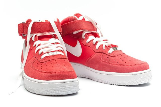 Nike Air Force 1 Mid Fusion Red 2