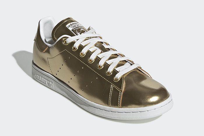 Adidas Stan Smith Metal Fv4298 Front Angle