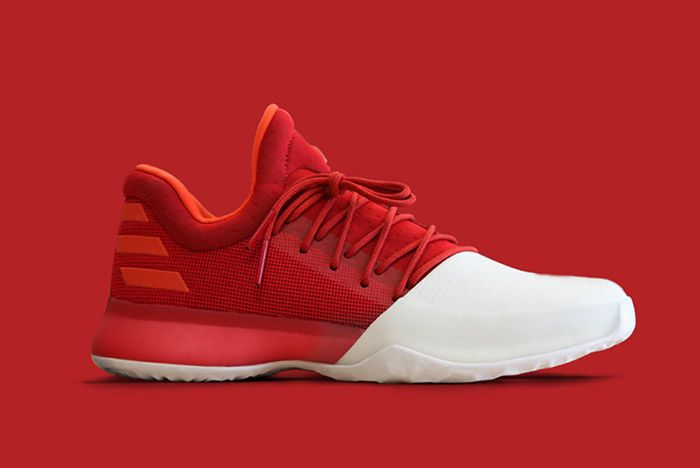 Adidas Harden Vol 1 Red 1
