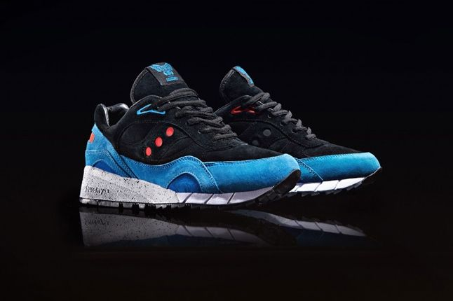 Footpatrol X Saucony Only In Soho Shadow 6000 Angle 1