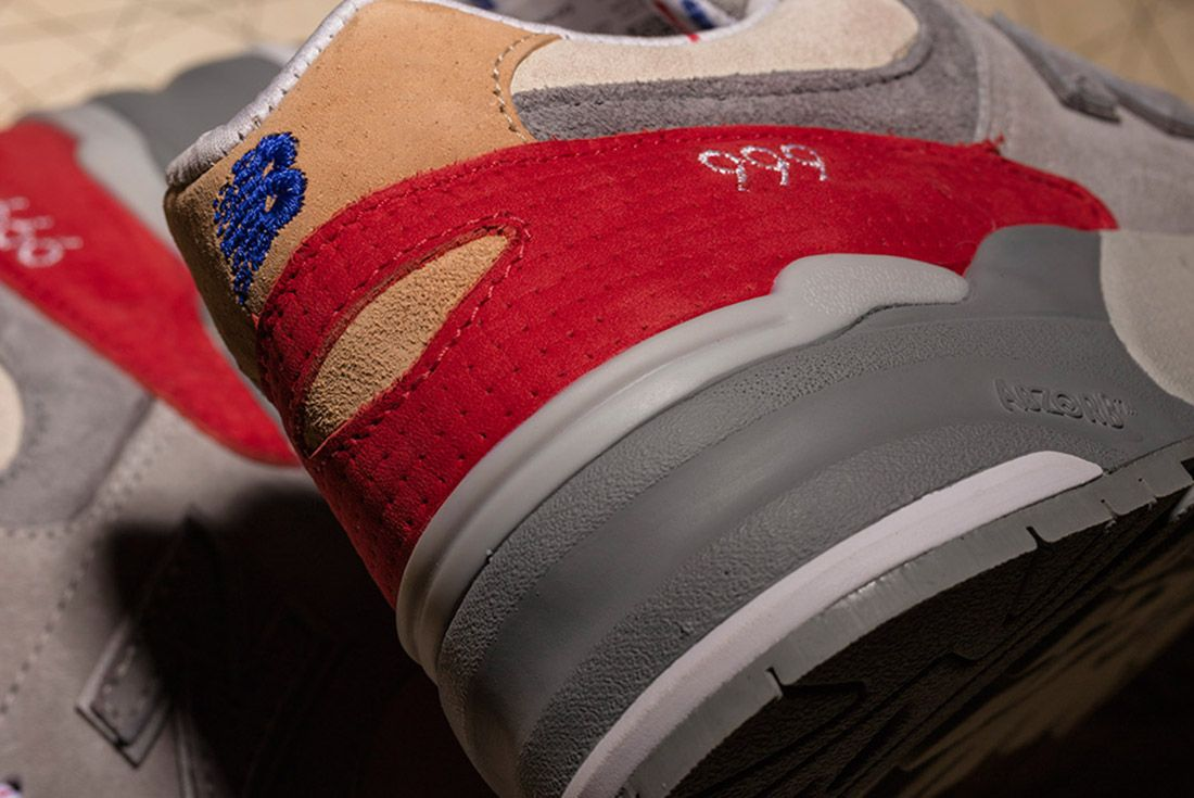 New Balance 999 Hyannis Concepts Red 5