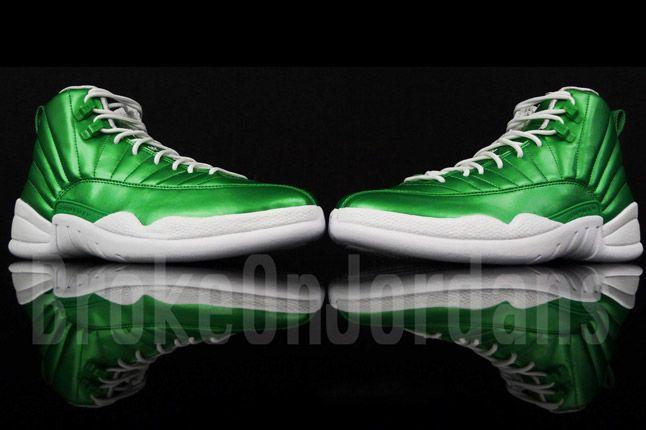 Jordan 12 Metallic Green Sample 04 1