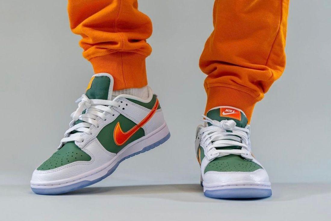 Nike Dunk Low 'NY vs NY' Glows in the Dark leak