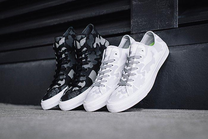Converse Chuck Taylor All Star Ii Reflective Print Collection Thumb