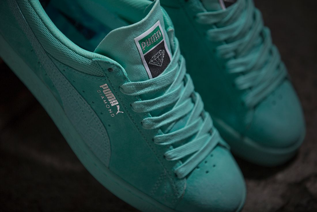 Diamond Supply Co X Puma Classic Suede Collection10