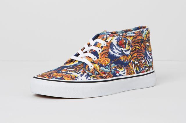 Vans X Kenzo Chukka Boot Tiger Side