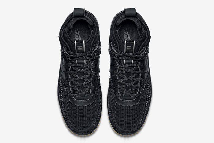 Nike Lunar Force 1 Duckboot Black 2