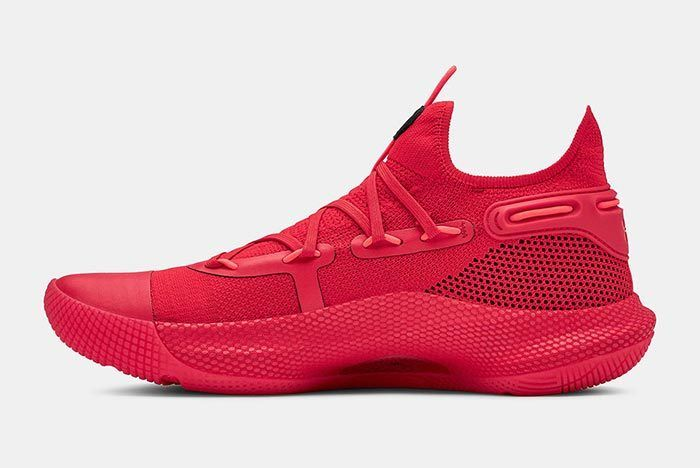 Under Armour Curry 6 Red 2