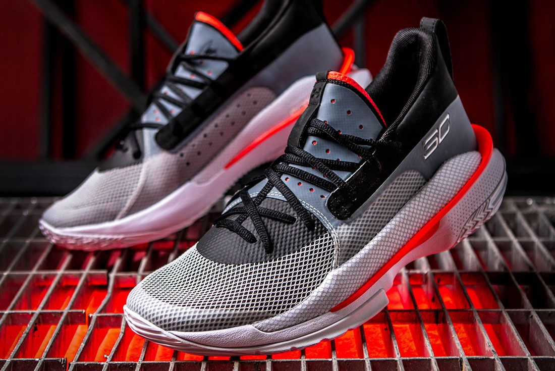 Under Armour Curry 7 Hero Shot Sneaker Freaker