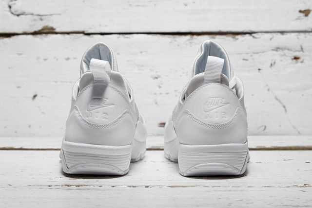 Nike Air Trainer Huarache Low White White 2