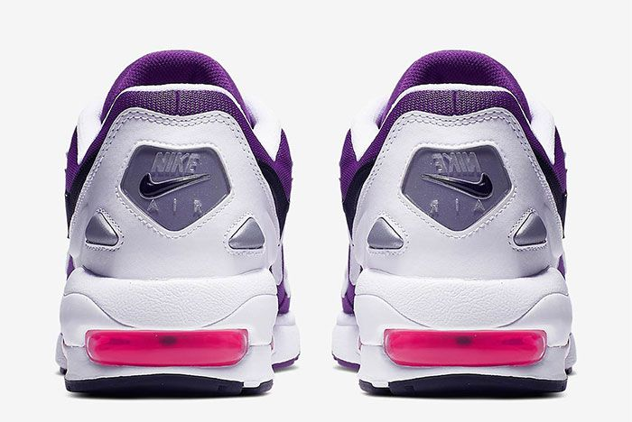 Nike Air Max2 Light Purple Heel