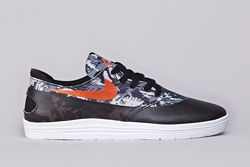 Nike Sb Lunar Oneshot Blk Org Dp