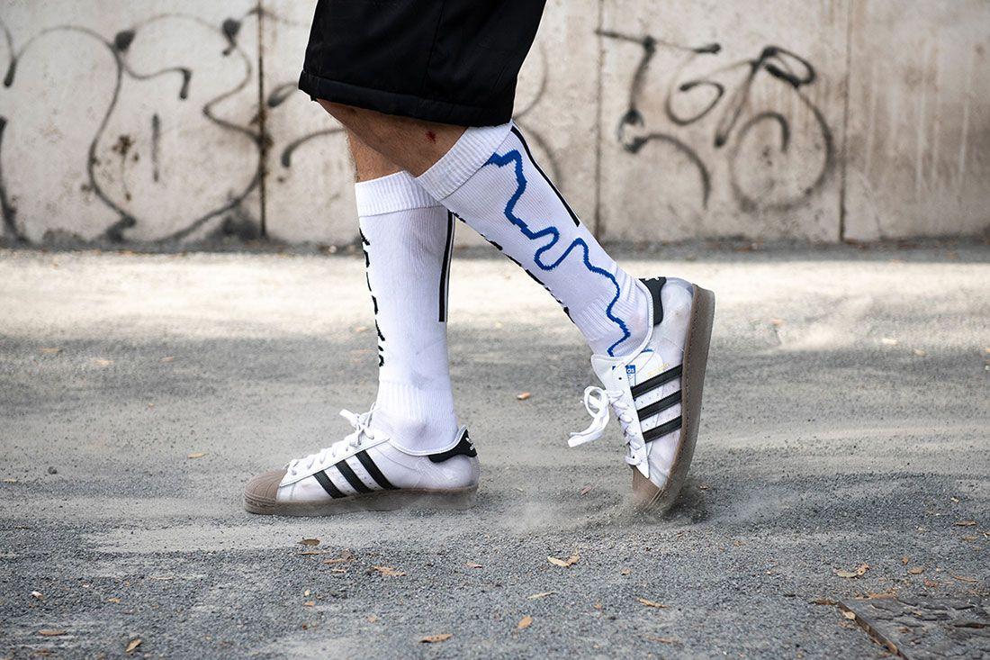Blondey Mccoy Adidas Skateboarding Superstar 80S White Clear Gum Omeally 3