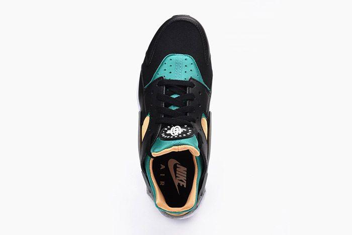 Nike Air Huarache Black Emerald Resin 5