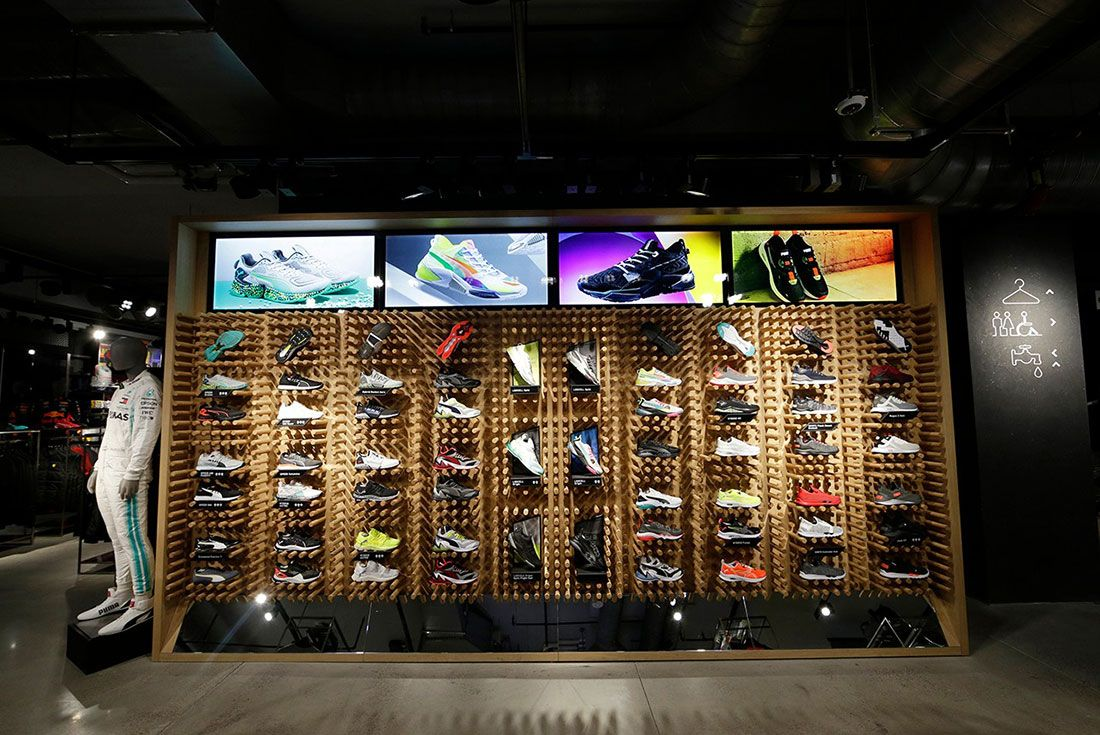 Puma Flagship Fifth Avenue In Store8 Sneakers