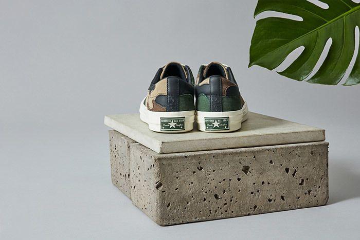 Sneakersnstuff Converse One Star Camo 1
