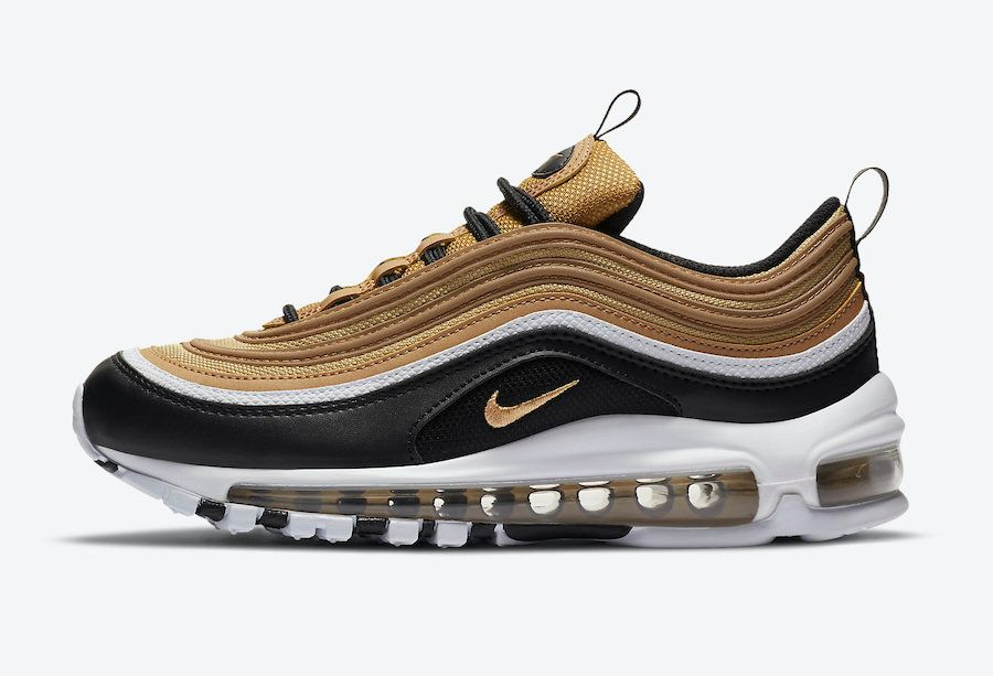 Nike Air Max 97 Black and Gold Left