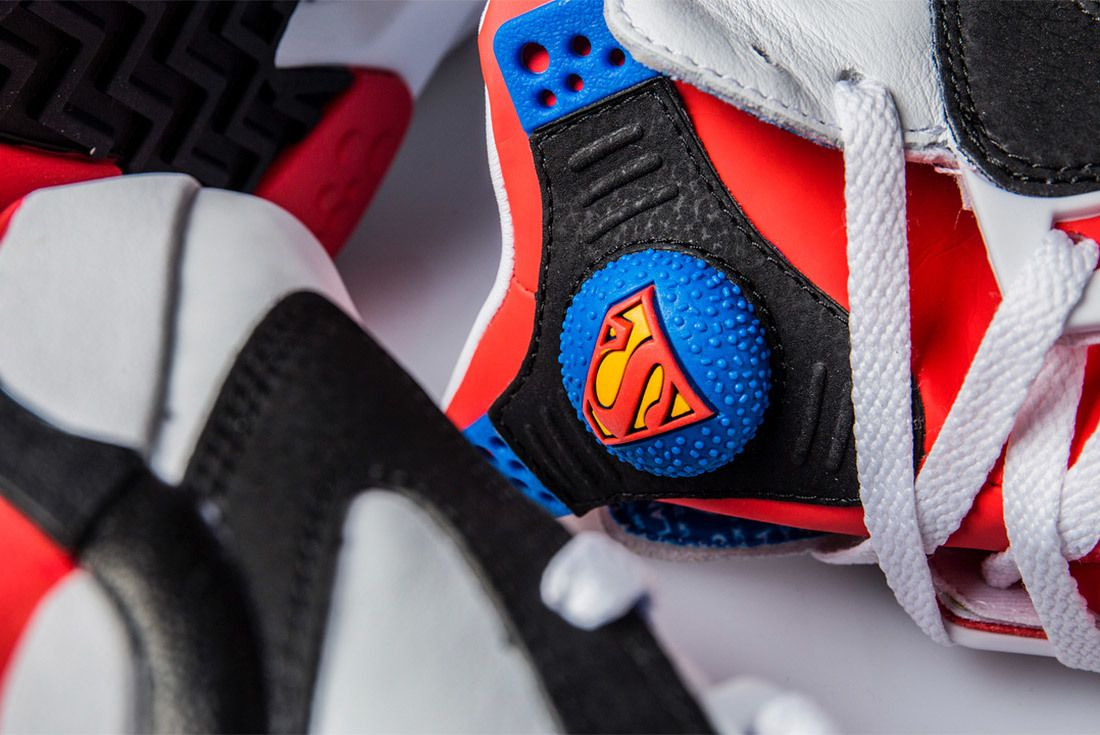 Superman Dc Comic X Shoe Palace X Reebok Shaq Attaq Sneaker Freaker 1