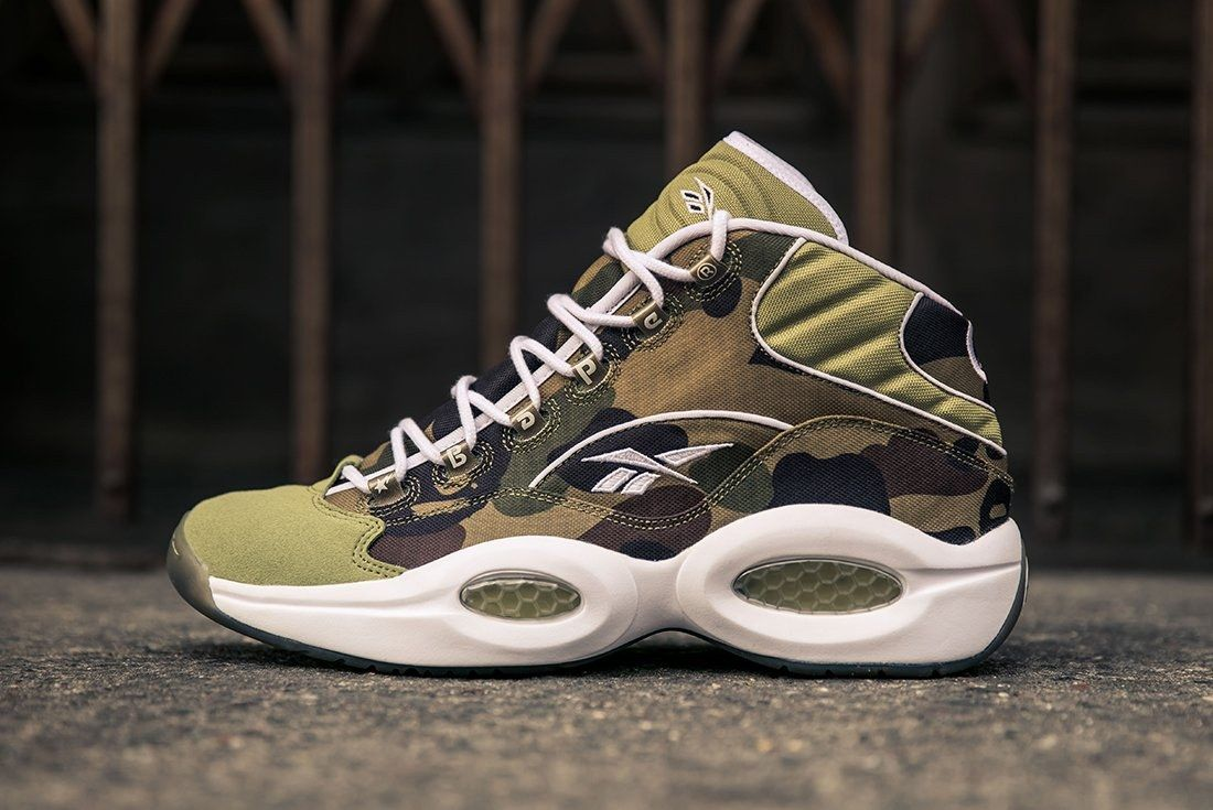 Bape X Reebok Question Mid24