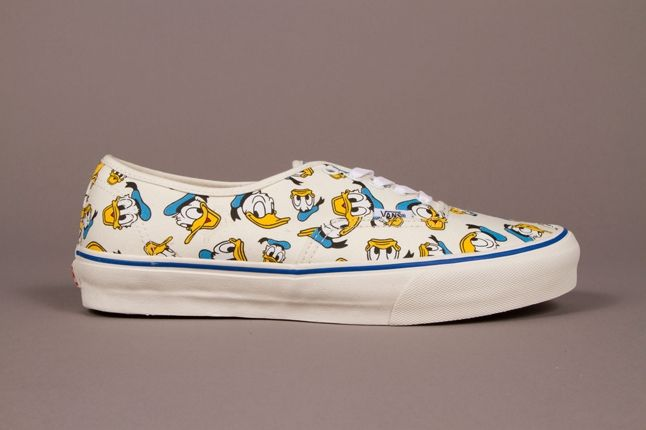 Vault By Vans X Disney Og Authentic Lx Donald Classic White Adult Fall 2013 1