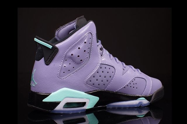 Air Jordan 6 Gs Iron Purple 3