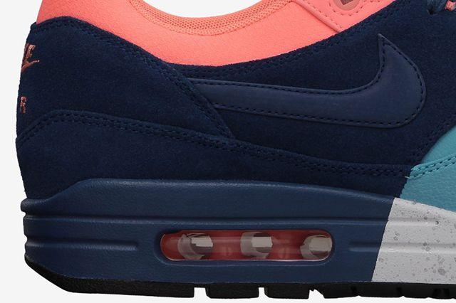 Nike Air Max 1 Split Pack Brave Blue Atomic Pink 2