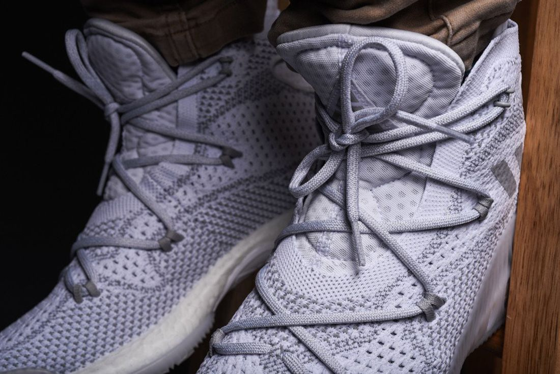 Adidas Crazy Explosive Primeknit Heather Grey 4