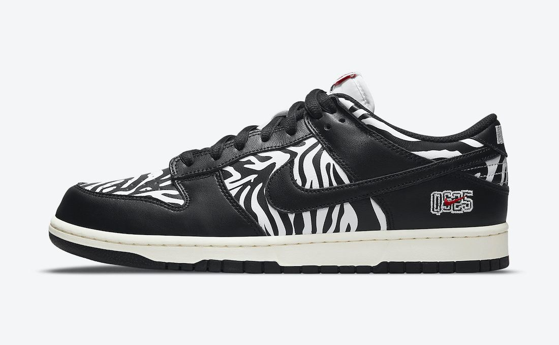 Nike SB Dunk Low Zebra