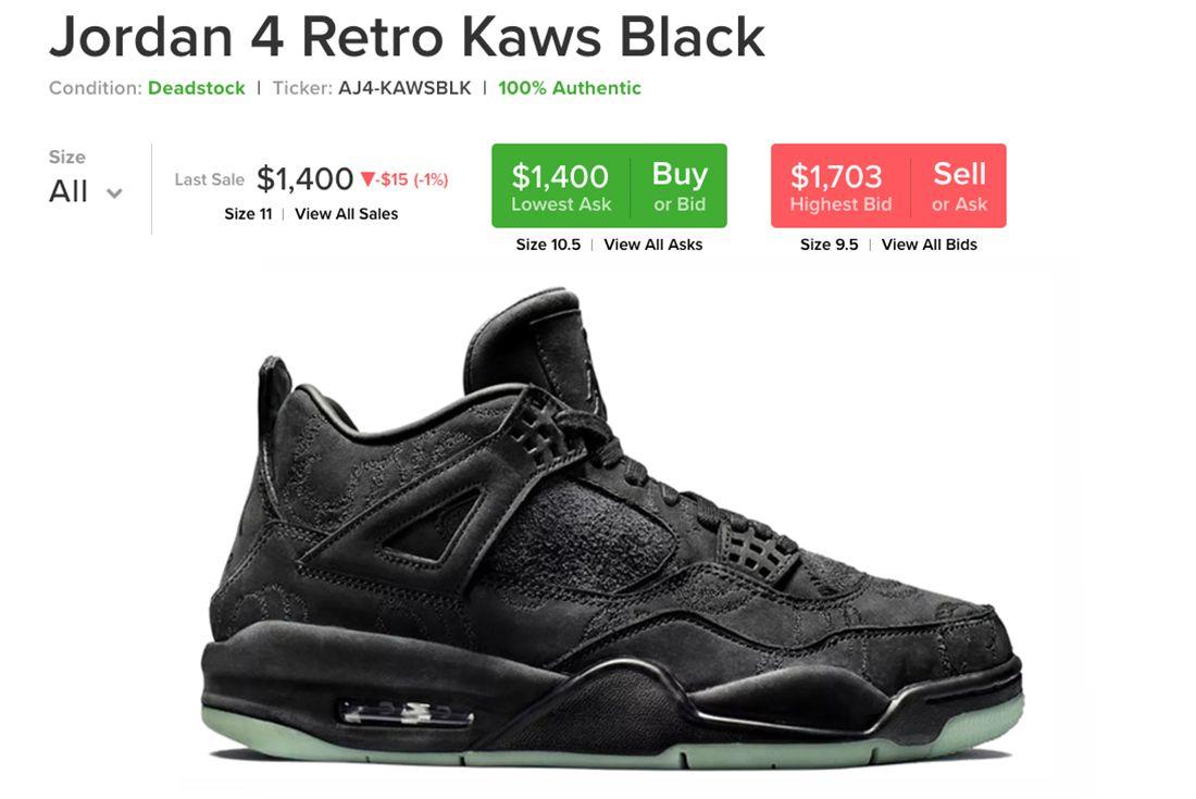 Kaws Resellers Sneaker Freaker 5