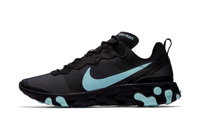 Nike Element React Black Blue 3