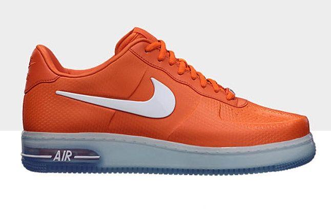 Nike Air Force 1 Foamposite Pro Low Orange Blue White 1