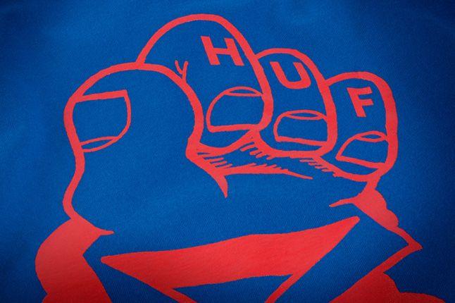 Huf X Remio Tee Blue Front Detail 1