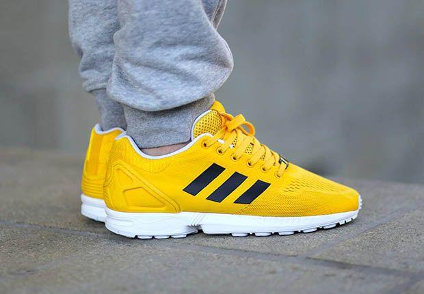 Adidas Zx Flux Bold Gold 1