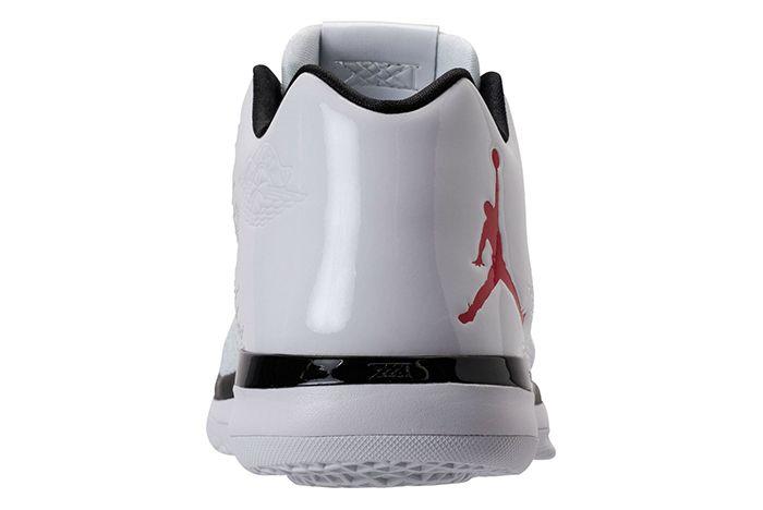 Air Jordan Xxxi Low White University Red6
