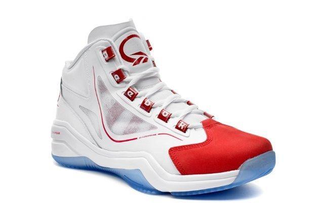 Reebok Basketball Q96 White Red